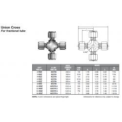 Union Cross For fractional tube