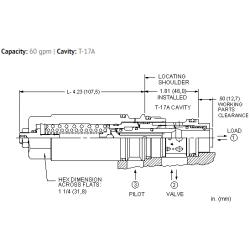 MBGBLHN 1.5:1 pilot ratio, load reactive load control valve