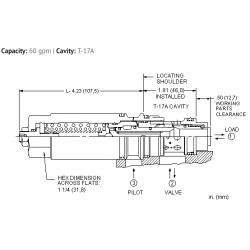 MBGALHN 3:1 pilot ratio, load reactive load control valve