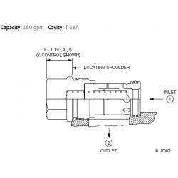 CXJAXCN Free flow nose to side check valve