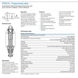 PFR21H - Proportional valve