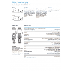 EPV16 - Proportional valve