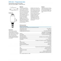 EFV1-10-C - Proportional valve