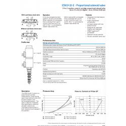 ESV9-10E - Proportional solenoid valve