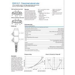 ESVL9-10-F - Proportional solenoid valve